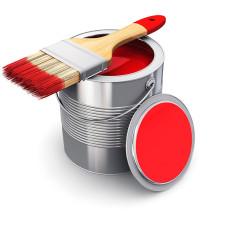 Краска для металлочерепицы и профнастила, 200мл