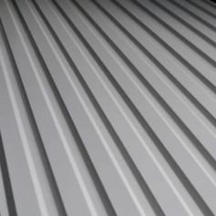 Профнастил С-12 0.40 9003 белый глянец
